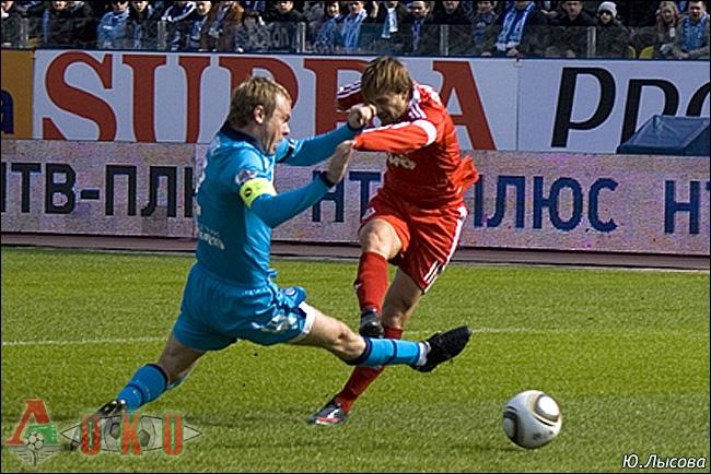 Зенит - Локо 1-0