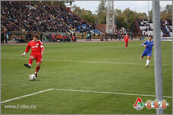 Фото с матча ФК Томь (Томск) — ФК Локомотив (Москва)