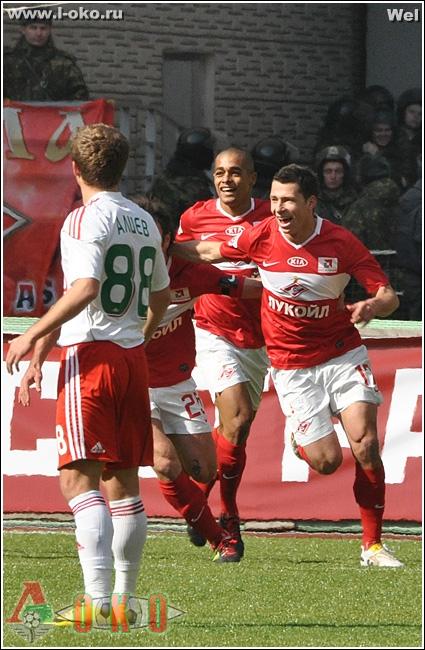 Спартак Москва - Локомотив 2010