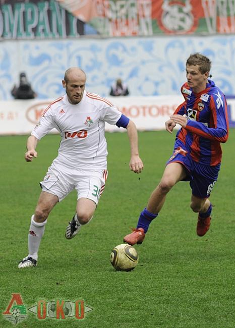 Е.Дрожжин. ЦСКА - Локомотив 1-1