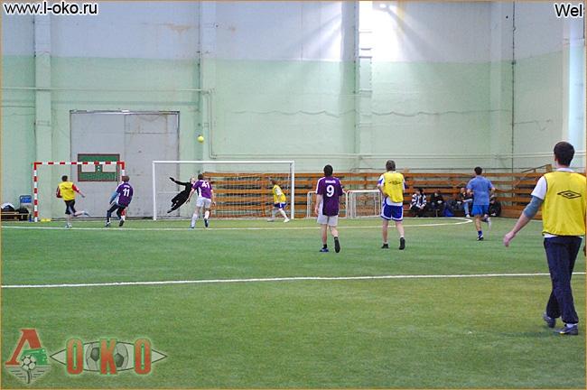 Зимний турнир болельщиков ФК Локомотив Москва. Лист - El Loko 5-3.