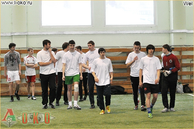 Зимний турнир фанатов ФК Локомотив Москва. Лист - Funny Friends  2-7