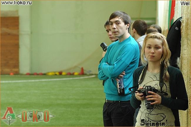 Зимний турнир болельщиков ФК Локомотив Москва. Лист - Подольск 12-8