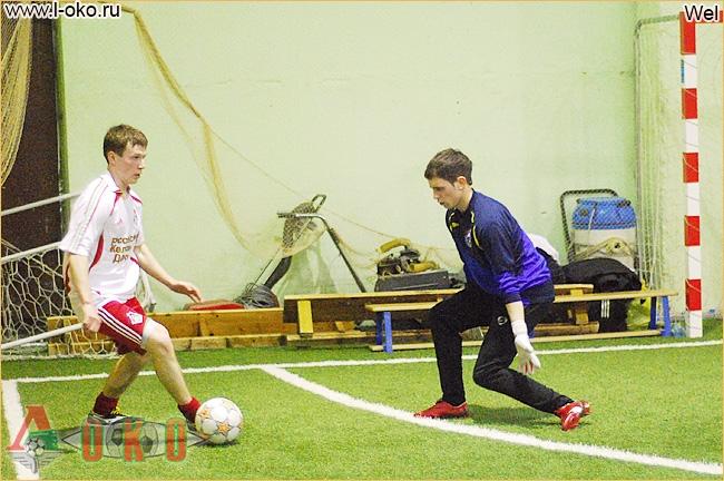 Зимний турнир болельщиков ФК Локомотив Москва. Локомотив.ру - Локо Звездный 3-2