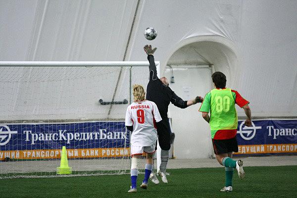 Матч с командой из коломенского интерната. Август 2009 год