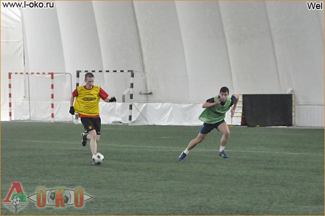 Зимний турнир болельщиков ФК Локомотив Москва.