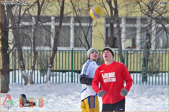 Зимний турнир болельщиков ФК Локомотив Москва. Красноармейск - South Way 6-5.