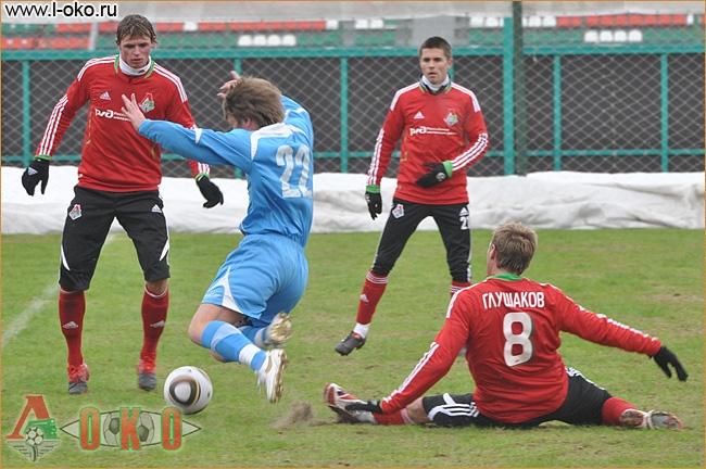 Товарищеский матч ФК Локомотив Москва - Динамо Минск 2-2