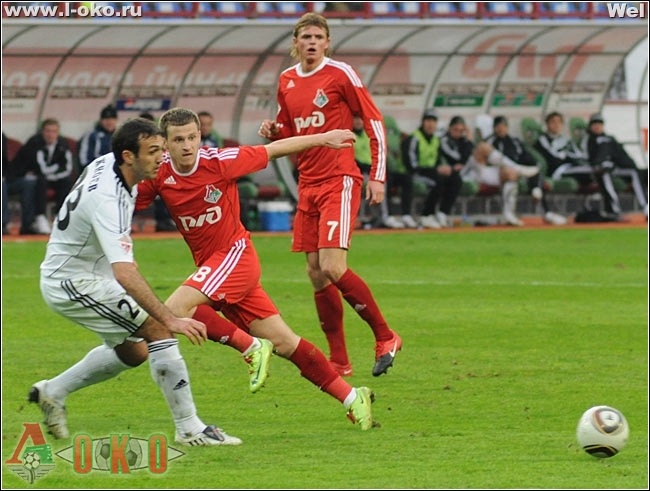 Локомотив Москва - Томь Томск 2-1