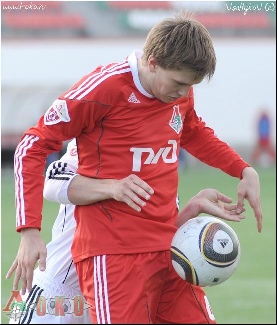 Локомотив (мол) - Томь (мол) 3-2