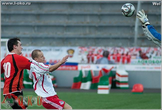 20 тур XII ЧМИФЛ ФК Стандарт - ФК Локомотив.ру 1:4 (1:2)