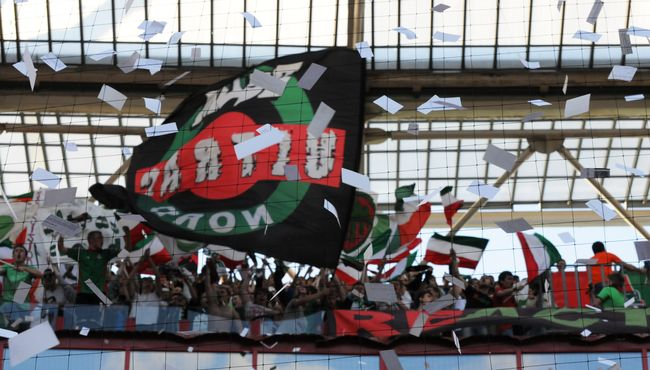 Фотоотчет с матча ФК Локомотив Москва - ФК Анжи