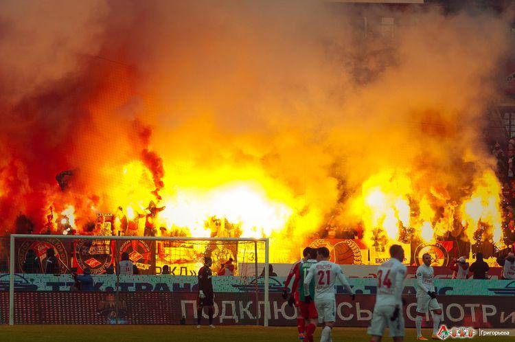 ФК Локомотив - ФК  Спартак 1-26