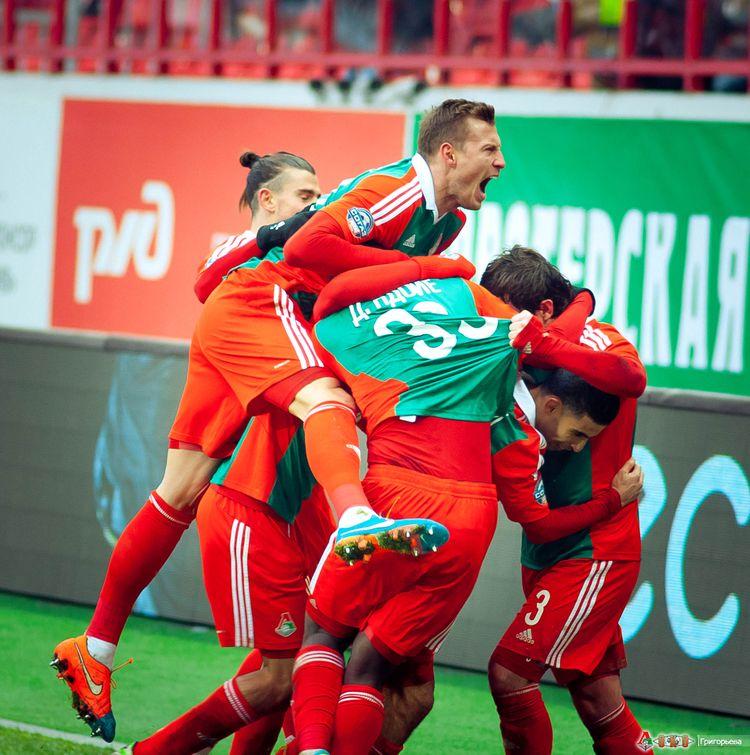 ФК Локомотив - ФК  Спартак 1-41