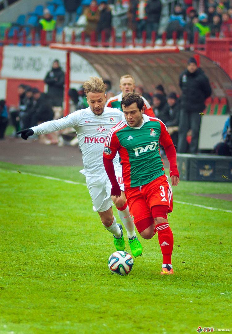 ФК Локомотив - ФК  Спартак 1-4