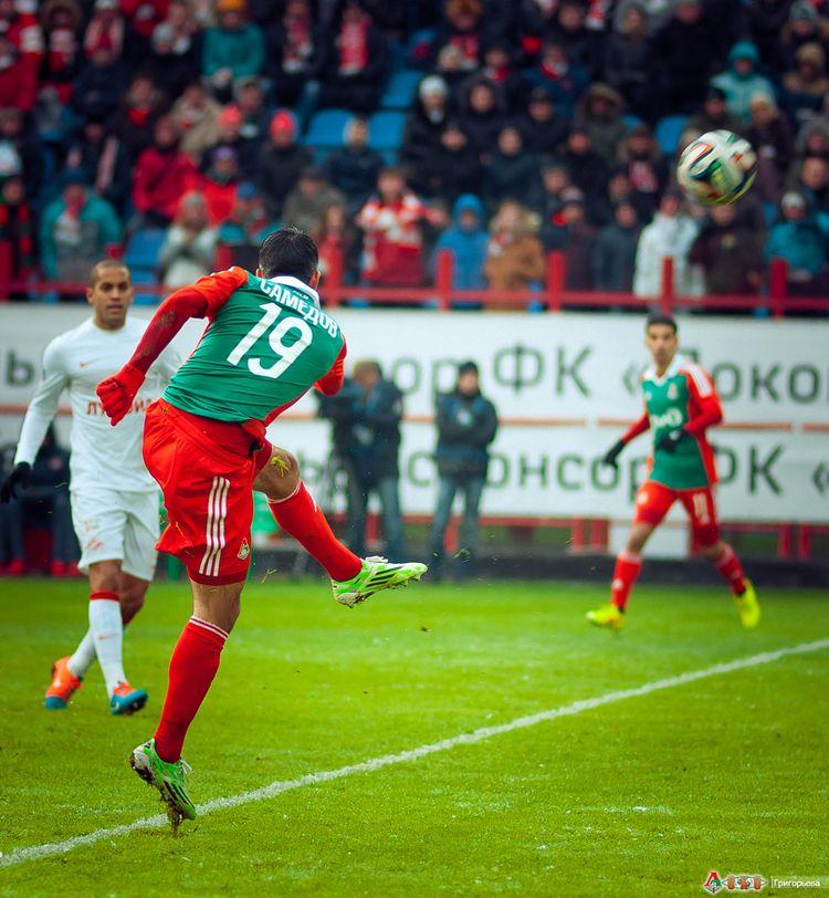 ФК Локомотив - ФК  Спартак 1-5