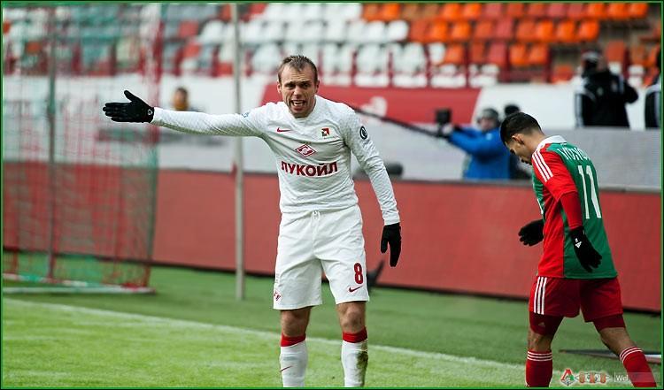 ФК Локомотив - ФК  Спартак 1-9