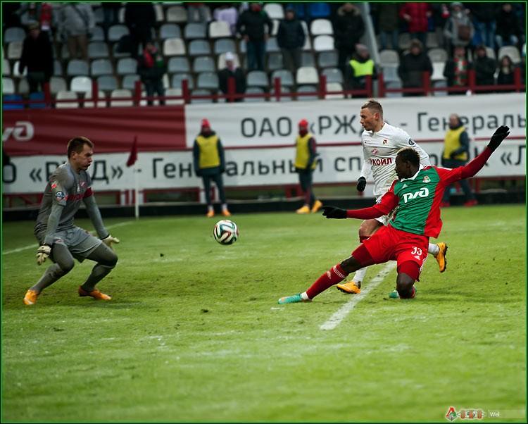ФК Локомотив - ФК  Спартак 1-31