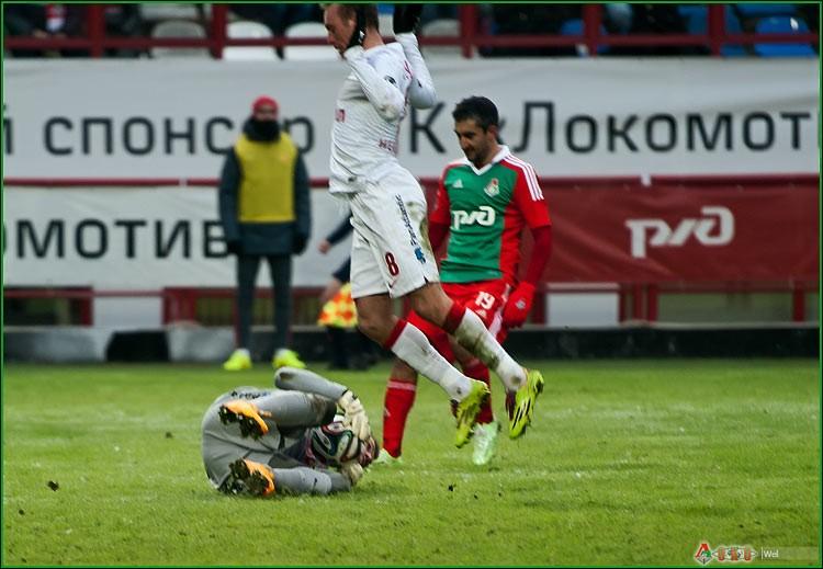 ФК Локомотив - ФК  Спартак 1-43