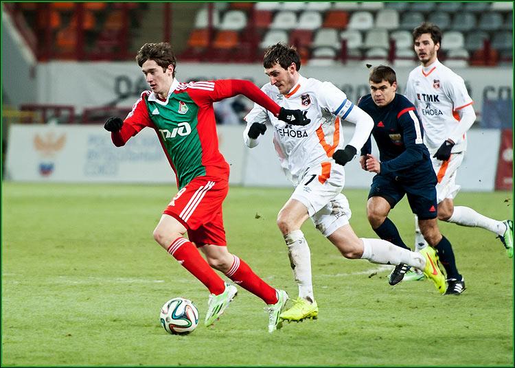 ФК Локомотив - ФК  Урал 1-0