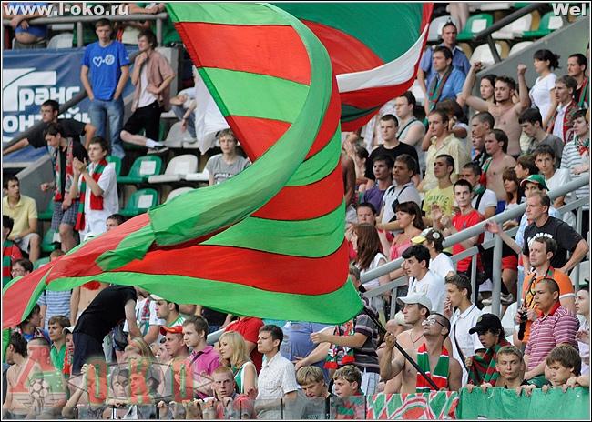 Фото отчет с матча Локомотив-Алания