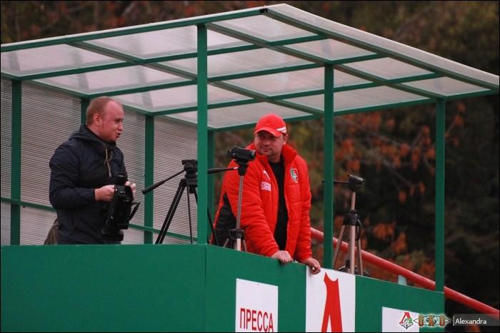 Фото с матча  Локомотив-2   - Мордовия   0-1
