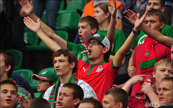 Фото с матча Локомотив -Алания 2-2