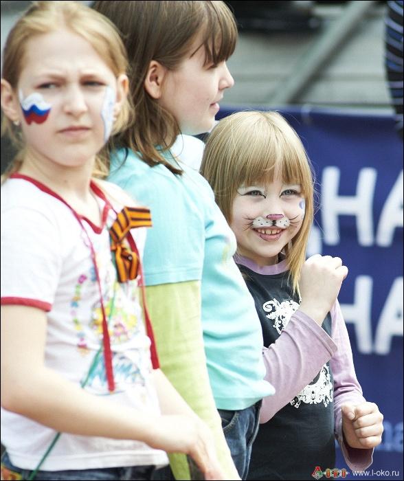 Фото с матча  Динамо - Локомотив