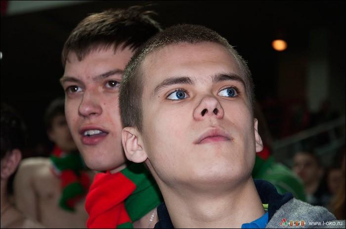 Фото с матча  Локомотив - ЦСКА