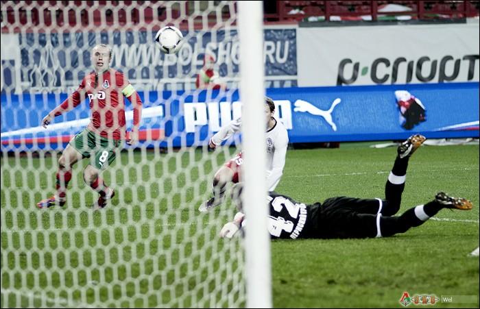 Локомотив - Амкар 1-2