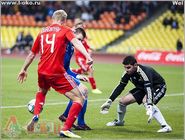 Сборная России - сборная Андорры  6-0