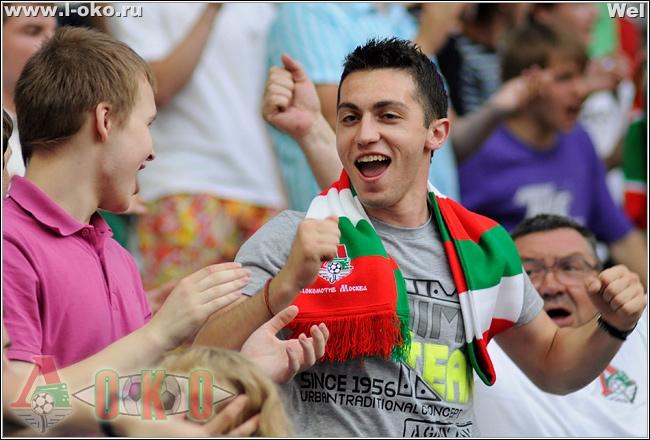 Фото отчет с матча Локомотив-Анжи