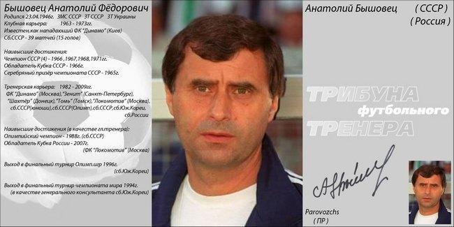 Автографы тренеров