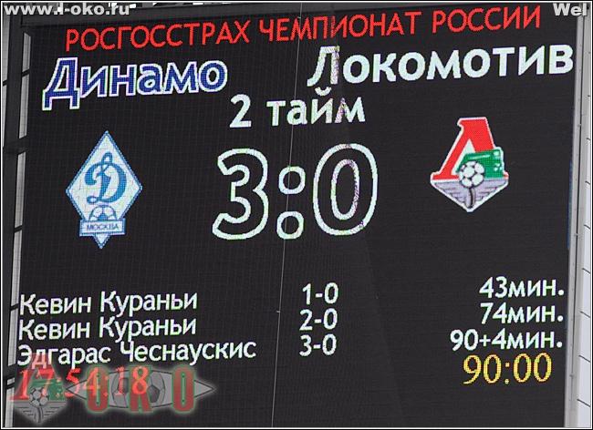 Динамо - Локомотив 3-87