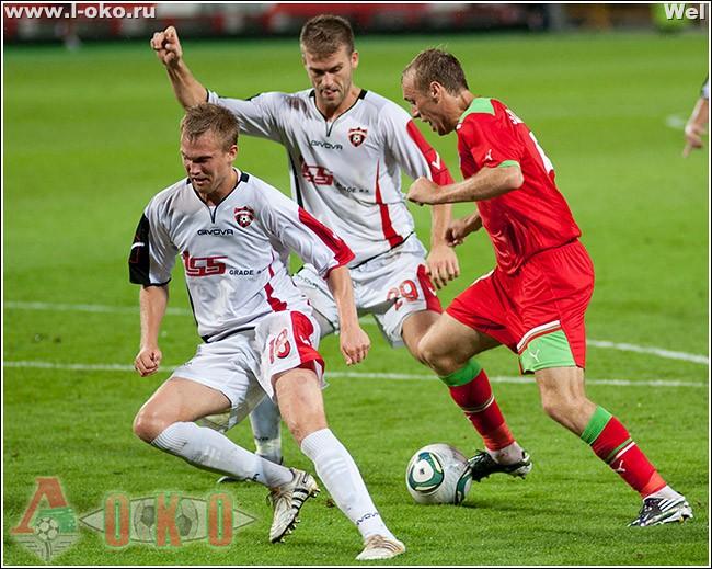 ФК Локомотив Москва - ФК Спартак Трнава  2-0