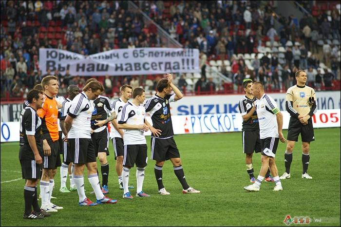 Фото с прощального матча Вадима Евсеева