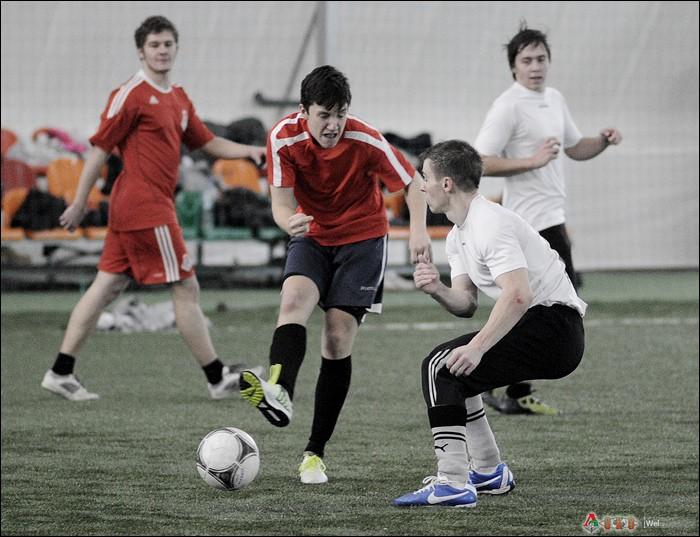 Фанатский футбол