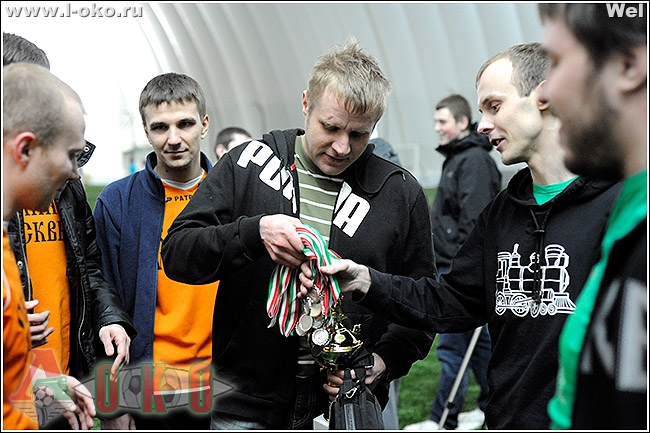 Финал Второго Зимнего турнира болельщиков ФК Локомотив Москва