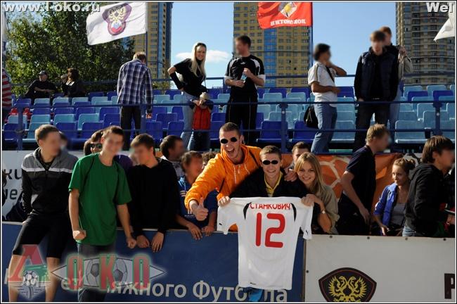 ПФК Локомотив - чемпион Москвы
