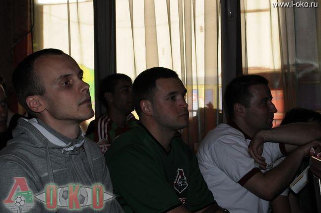 Встреча болельщиков с Маринато Гилерме