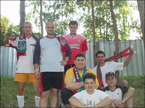 Болельщики из Алма-Аты. Прислал Alveron