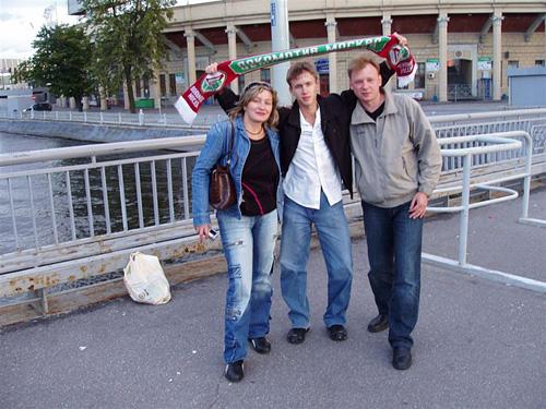 В Питере перед стадионом. Прислал Mistik36