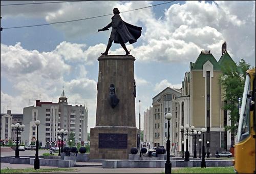 Липецк. Памятник Петру Первому. Прислал vnik