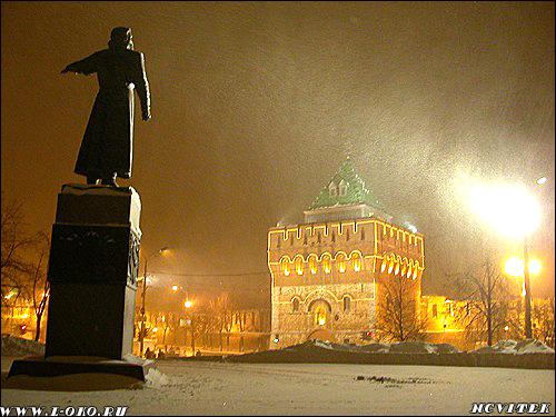 Минин. Дмитриевская башня.