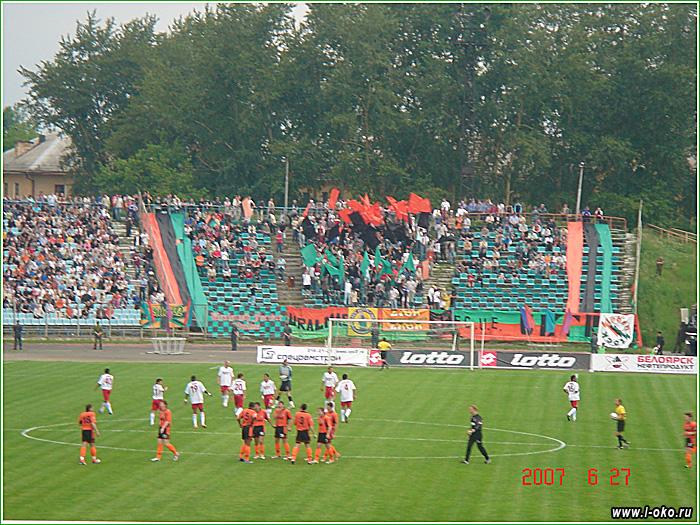 Двойник Томск - Екатеринбург 2007 год
