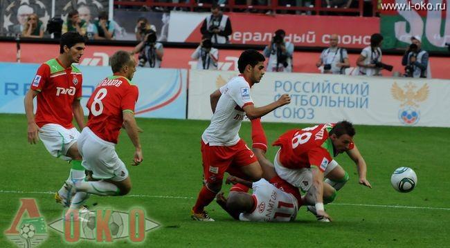 ФК Локомотив - ФК Спартак Москва