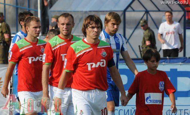 ФК Волга Нижний Новгород - ФК Локомотив Москва  0-21