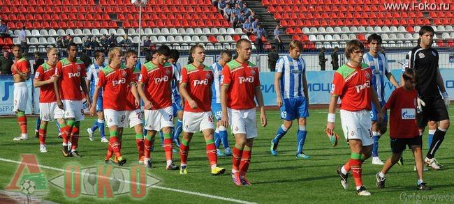 ФК Волга Нижний Новгород - ФК Локомотив Москва  0-20