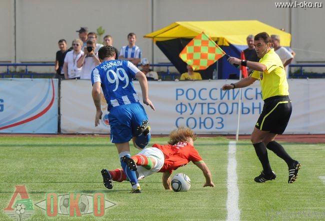 ФК Волга Нижний Новгород - ФК Локомотив Москва  0-18