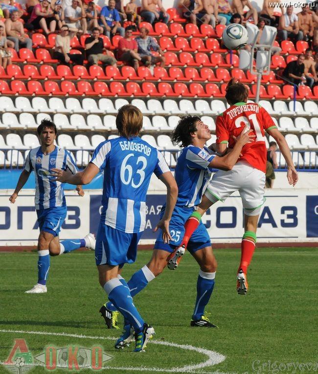 ФК Волга Нижний Новгород - ФК Локомотив Москва  0-16